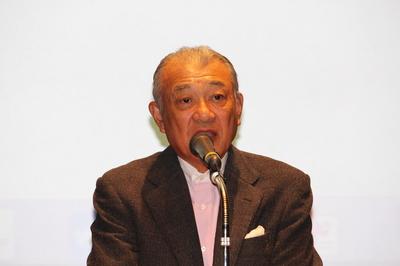 日韓パラリンピックセミナー 日本財団笹川会長.JPG