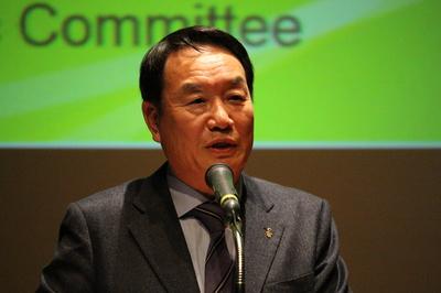 日韓パラリンピックセミナー KPC金会長.JPG